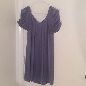 Lavender Esley Dress with Peacock feather detail